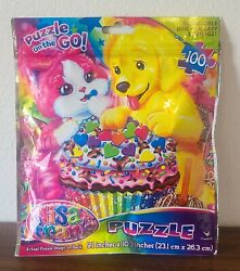 2014 Lisa Frank 100 Piece Puzzle In Bag Sealed