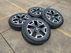 18 Ford Bronco Outer Banks Oem Rims Wheels Tires Black Factory 95020 2021 New
