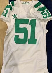 Notre Dame 2011 Team Issued Football Jersey Under The Lights Vs Michigan