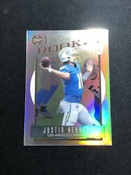 2020 Panini Chronicles Legacy Silver Prizm Justin Herbert Rc Card 203 Chargers