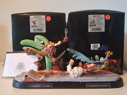 Looney Tunes Fast And Furry-ous Road Runner Wile E Coyote 465114 465113 Goebel
