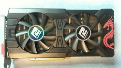 Powercolor Rx 570 Red Dragon Graphics Card With 4gb Memory