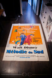 Song Of The South Walt Disney 4x6 Ft French Grande Original Movie Poster 1946