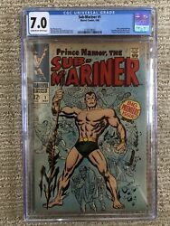 Sub-mariner 1 Marvel Sliver Age Comic Cgc 7.0 First Issue