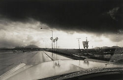 Roger Minick California 1977 / Vintage Sepia-toned Silver Print / Signed