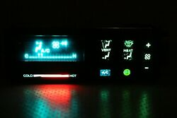 Rebuilt 88-90 Chevy 1500 Gmc Full Size Truck Climate Control A/c Heater Black
