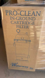 Waterway Pro-clean In-ground Cartridge Filter 100 Square Feet