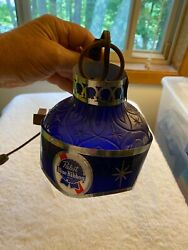 Vtg Pabst Blue Ribbon Beer Wall Light Pbr Bar Lamp Collectible Working Sconce.
