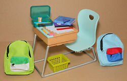 18quot; Doll Desk Student Backpacks School Extras American Girl Our Generation $27.00