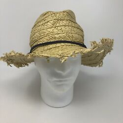 Rip Curl Surfing Beach Straw Panama Hat One Size $16.40