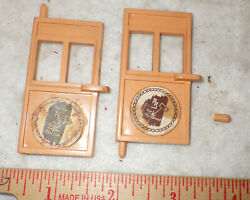 Roy Rogers Stagecoach Doors Lot Of Two