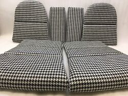 Porsche 911 991 997 Gt3 Rs Gt Gt2rs Carbon Folding Bucket Seat Houndstooth Cover