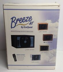 Breeze At Hf Ecoquest Air Purifier Sanitizer, Walnut [tested And Works] [no Remote