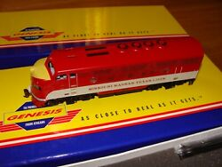 Athearn Genesis Mkt F3a-f3b-f3a Set Dcc And Sound New-in-box 205a B C