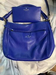 Kate Spade Satchel With Matching Wallet Set $65.00
