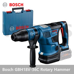 Bosch Gbh18v-36c Cordless Rotary Hammer Biturbo With Sds Max Bare Tool Body Only