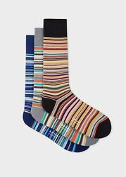Nwt Paul Smith Socks 3-pack Gift Set. Made In England. Great Gift