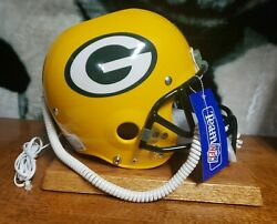 Nardi Helmet Phone Nfl Greenbay Packers Brand New With Tags 30 Years Old