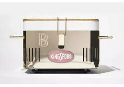 Ben Baller X Kingsford Ntwrk Exclusive Gold Plated Bbq Grill Set