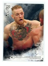 2014 Topps Ufc Bloodlines 98 Black Parallel 2nd Year Conor Mcgregor /25