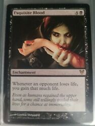 X1 Exquisite Blood Free Shipping Mtg Edh