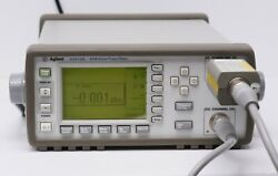 Hp Keysight E4418b Epm Series Single-channel Power Meter W/ 8481a Sensor And Cable
