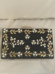 Women Clutch Evening Bags Pearl Beaded Cocktail Party Purse $20.00