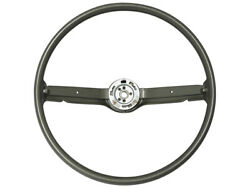 New 1968-69 Fairlane Steering Wheel 16andrdquo Ivy Gold 2-spoke Mustang Comet Ford