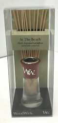 WoodWick At The Beach Small Reed Diffuser 2 Fluid Ounces $16.25