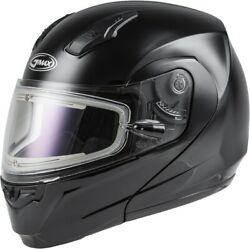 G-max Md-04s Solid Helmet With Elecric Shield Xx-large Black