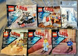 6 Rare Lego Movie Sets - Htf Emmets Fly Car Toys R Us Exclusive Bagged