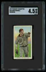 T206 Rube Waddell Tobacco Card Piedmont Cigarettes - Great Color