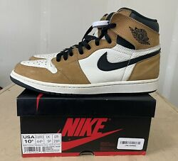 Size 10.5- Jordan 1 Retro High Og Rookie Of The Year 2018-fast Ship