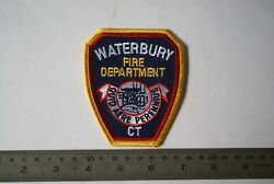 City Of Waterbury Fire Department Patch, Connecticut