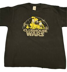 Vintage Mother Goose And Grimm Clubhouse Wars T Shirt