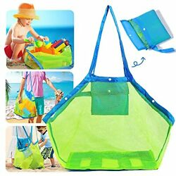 Mesh Beach Bag Quality Foldable Extra Large Beach Bags And Totes Toys amp; $11.63