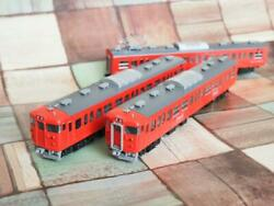Tomix Repainted Products Siono Railway Series 115 Reprint Coca Coke Paint 3-car