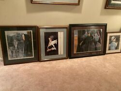 Nancy Noel Art Collection - 8 Professionally Matted And Framed Prints