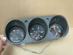 Porsche 924 Dash Instrument Panel Gauge Assembly With Wiring Harness