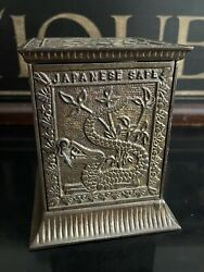 1880andrsquos Antique Cast Iron Kyser And Rex Andlsquojapanese Safeandrsquo Still Bank