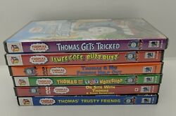 Thomas Gets Tricked Dvd From Thomas And Friends Dvd Lot Brand New + 1 Like New