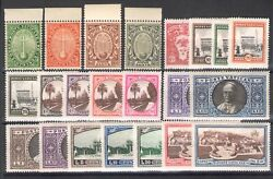 1933 Vatican, Stamps New, Year Complete 22 Values Mnh