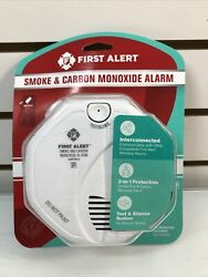 First Alert Battery-operated Smoke And Carbon Monoxide Alarm Brand New