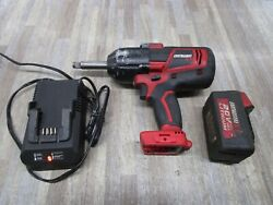 Earthquake Eq12xte-20v Cordless Impact Wrench 1/2 With 4ah Batteryand Charger