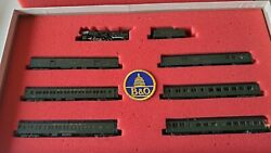 Con-cor N Scale Baltimore And Ohio 'capitol Limited' Limited Edition Passenger Set