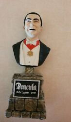 Sideshow Collectibles The Legacy Collection Bela Lugosi Dracula Bust Statue