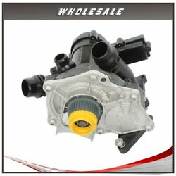 Thermostat W/water Pump For 2018 2017 2016 2015 2014 Volkswagen Beetle 2.0l