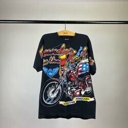 vintage thunder in the valley all over print tee size L $150.00