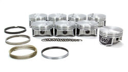 Wiseco Gm Ls F/t Piston And Ring Kit 4.010 Bore -3.2cc K398x1