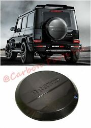 W464 W463a Carbon Spare Tire Cover Brabus Style Mercedes-benz G-class G63 G65